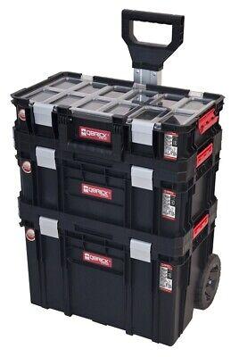 Set 3 Werkzeugkiste mit Rädern Werkzeugkasten Werkzeugkoffer QBRICK  (Werkzeugkasten Mit Rädern)