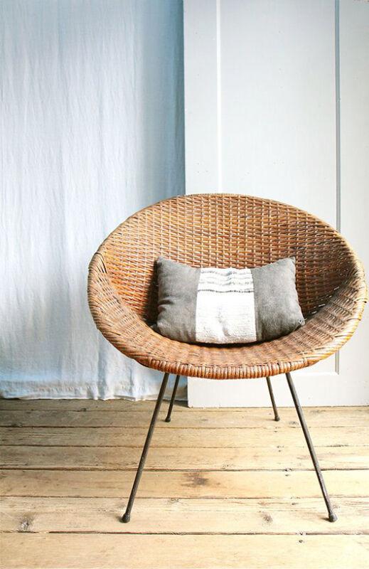 Vintage modern wicker Mid Century Modern Wicker    eBay. Modern Wicker Chair. Home Design Ideas