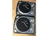 Pair of Numark TTX High Torque Direct Drive DJ Turntables