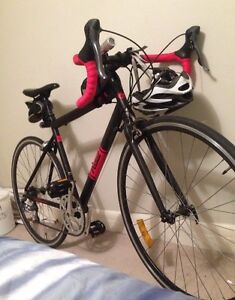 Pedal Push road bike - black and red Dulwich Hill Marrickville Area Preview