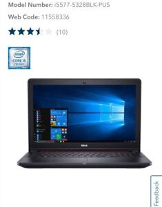 "Dell 15.6"" Gaming Laptop - NEW!"