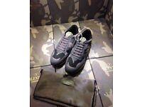 Valentino Garavani Triple Camo Rockrunner grey army Men's Sneakers
