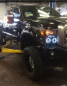 Lift kits/level kit install and parts+accesories