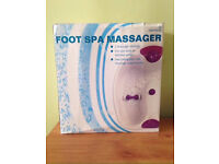 SUPERDRUG FOOT SPA ~ USED ONCE AND BOXED