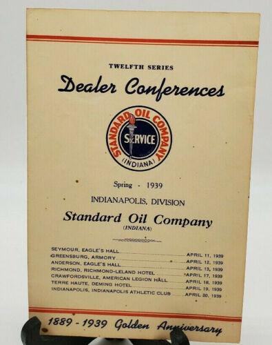 1939 Standard Oil Company Dealer Conferences Golden Anniversary Program