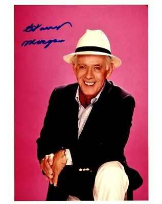 Harry Morgan In Person Signed Photo