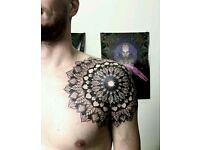 Tattoo artist, Wembley