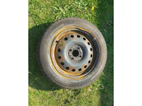 4 Studs Wheel with Good Tyre 175/65/R15 - SPARE WHEEL 175/65/15