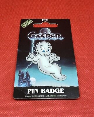 casper the friendly ghost pin Halloween BIN#Z1  - Ghost Casper Halloween