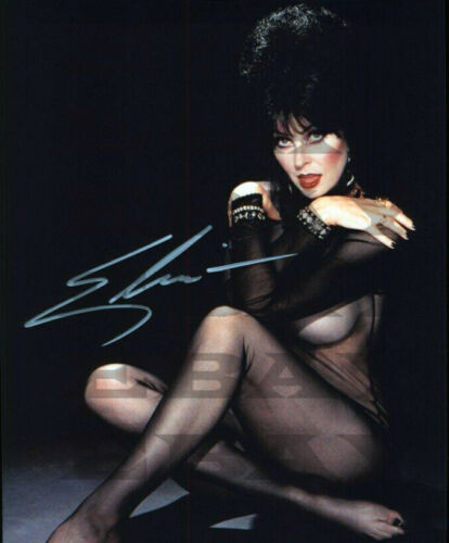 ELVIRA SEXY Autographed Signed 8x10 Photo Reprint