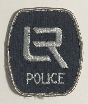 "vintage ""LR LITTLE ROCK POLICE"" PATCH ar ARKANSAS LAW ENFORCEMENT OFFICER rare"