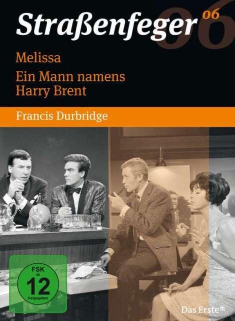 Straßenfeger 06 - Melissa -  Ein Mann namens Harry Brent - 4 DVD Box