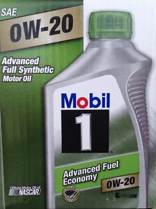 Mobil 1 94003 0w 20 Synthetic Motor Oil 1 Quart Pack Of 6