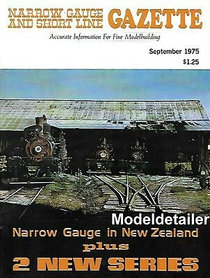 Narrow Gauge Gazette V1 N4 Hon3 New Zealand Porter Logging Mallets Rayonier
