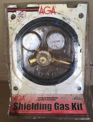 Aga Shielding Gas Kit Brand New Linde Gas Migtig Welding