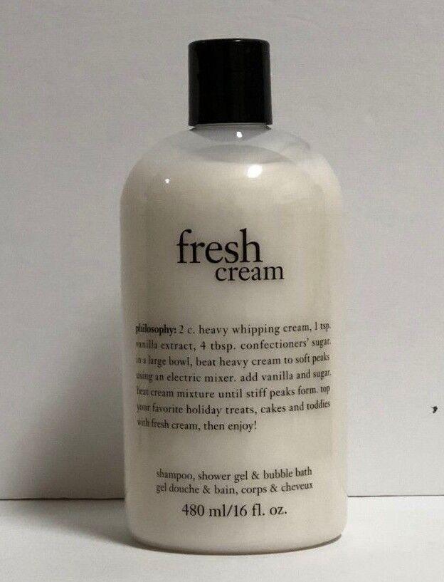 philosophy Fresh Cream Shampoo, Shower Gel & Bubble Bath Sha