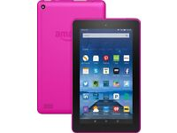 Kindle fire 7 with Alexa PINK £30 Plz call 07464218145