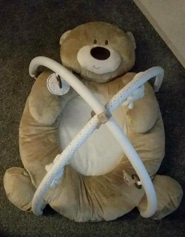 Teddy Bear Play Mat Gym Mat Baby Mat In Stockport