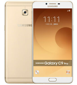 New-Imported-Samsung-Galaxy-C9-Pro-Duos-Dual-64GB-6GB-6-034-16MP-16MP-Gold