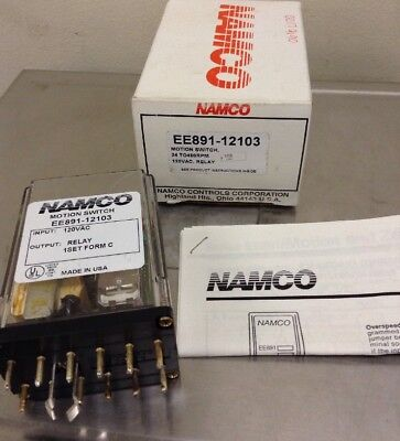 Namco Motion Switch Relay Ee891-12103