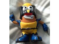 Marvel Comics Wolverine Mr. Potato Head Toy Figure