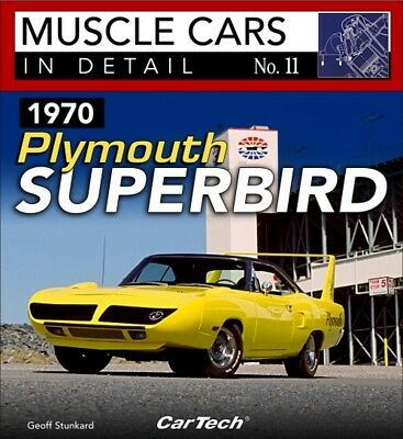 Muscle Cars In Detail No. 11 1970  Plymouth Superbird - Book CT578
