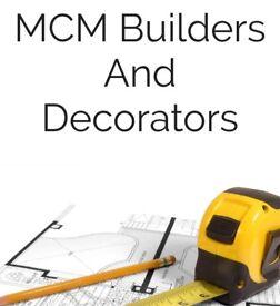 MCM builders and decorators | refurbishment | painting and decorating | electrics | plumbing