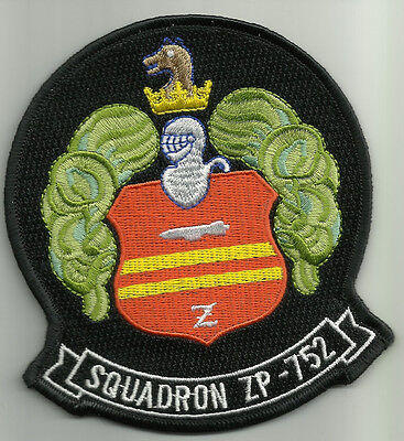 ZP-752 Aviation Airship Patrol Squadron 752 Military Patch KNIGHT AND SHIELD