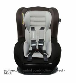 BRAND NEW UNUSED MOTHERCARE MADRID BABY/TODDLER COMBINATION CAR SEAT