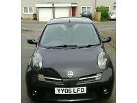 Nissan micra 1.6 160sr 3dr sports 06 plate
