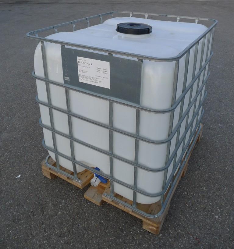 IBC Container Regentonne Wassertank 1000 ltr. auf Holzpalette