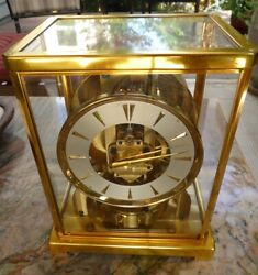 Jaeger LeCoultre Atmos Clock Caliber No. 526-5 from 1955 - Excellent!