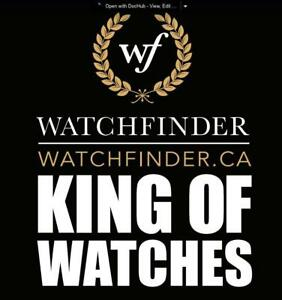 Wanted: WATCHFiNDER IS BUYING ROLEX, WE Pay the most for your luxuary Watches. CHECK OUR REVIEWS ON LINE