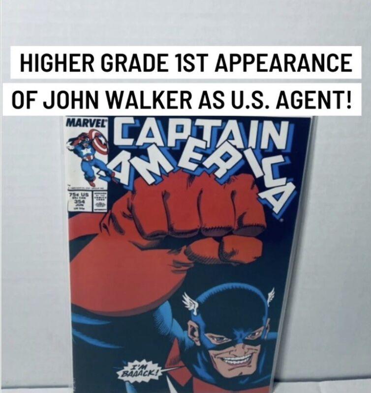 Captain America #354 1st John Walker as US Agent - MCU Key