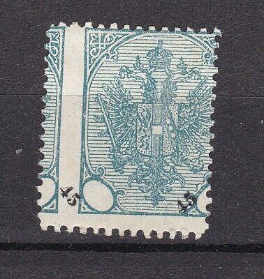 Bosnia Herzeg - 1901 -  Michel 28 - error in printing -  MNH