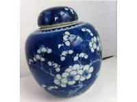 Vintage Chinese Prunus Ginger Jars