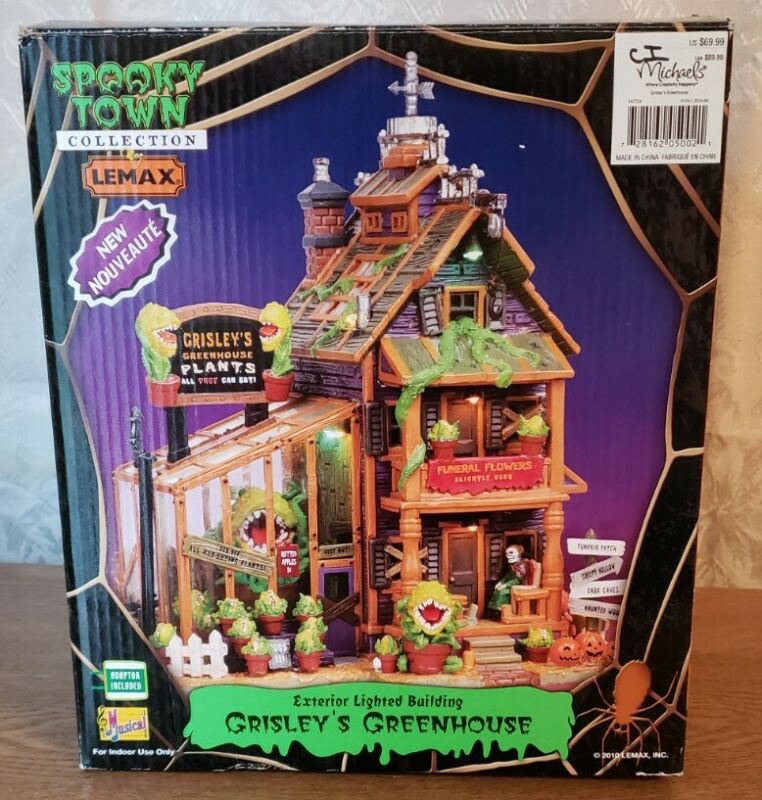 Lemax Spooky Town Grisley