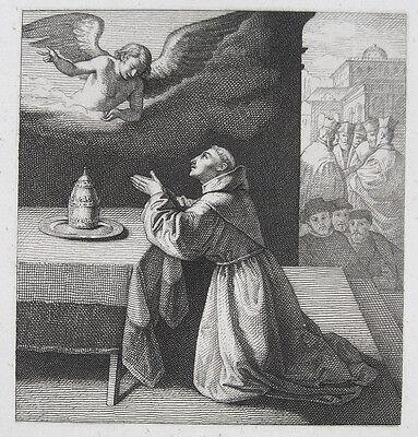 FRANCISCO DE ZURBARÁN: PAPSTWAHL. THE PRAYER OF ST. BONAVENTURA SELECTION POPE