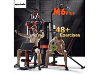 Multi Station Gym Home Total Body Workout over 48 exercises