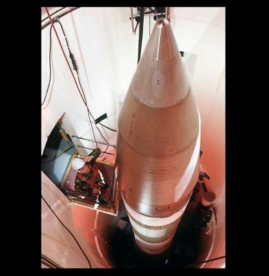 Minuteman III Nuclear Missile Silo PHOTO, ICBM Atomic Weapon Bomb LGM-30G for sale  Granite City