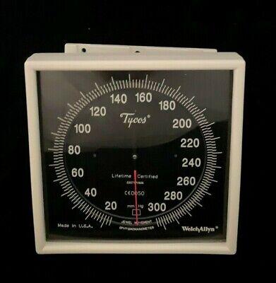Welch Allyn Tycos Blood Pressure Gauge Sphygmomanometer Swivel Wall Mount