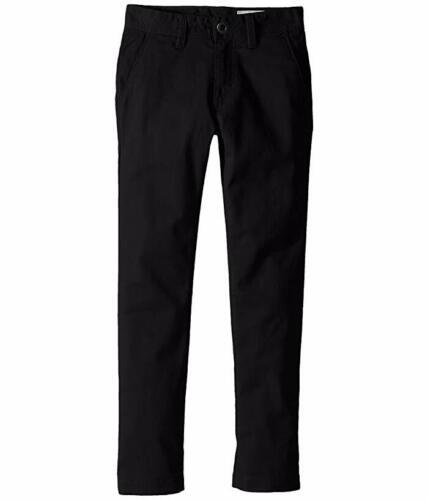 Boy's Volcom Modern Stretch Chinos, Size 29 - Black