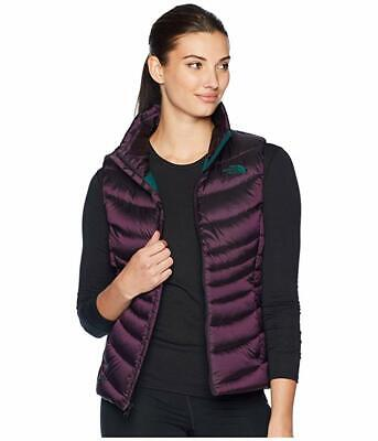 New Womens The North Face Aconagua Puffer Jacket Vest 2 Purple North Face Womens Vest