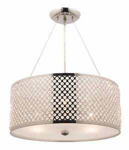 Mercator Flowerdale 3 Light Crystal Pendants (2 available) Kingsgrove Canterbury Area Preview