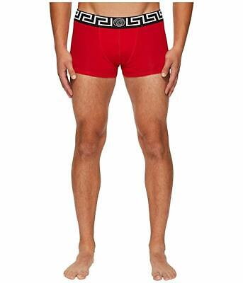 Versace Low Rise Red Trunks 9307 Size 6 XL
