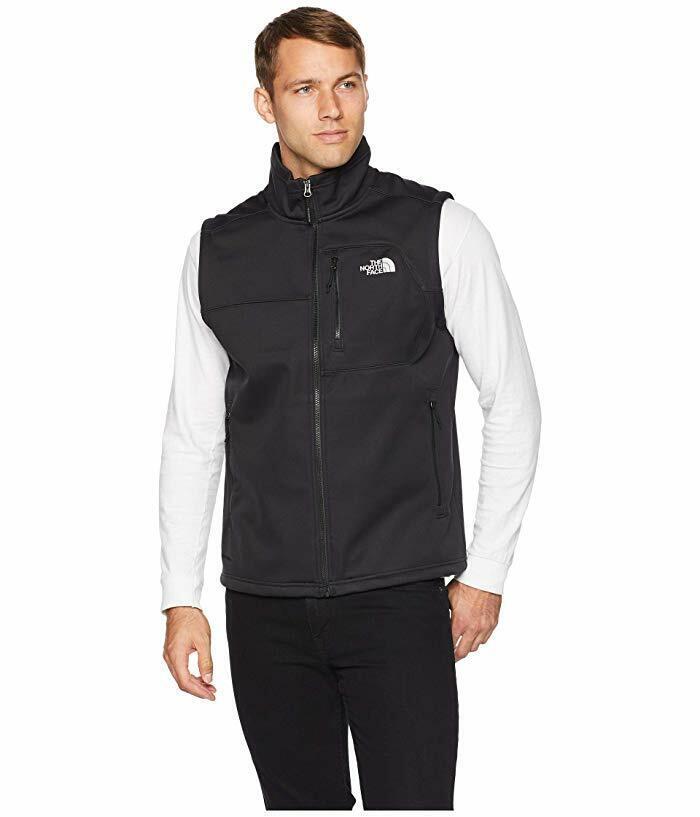 new-mens-the-north-face-apex-risor-softshell-jacket-coat-vest-black-grey-blue