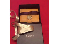 Genuine Gucci Soho Leather Wallet-Unused Gift