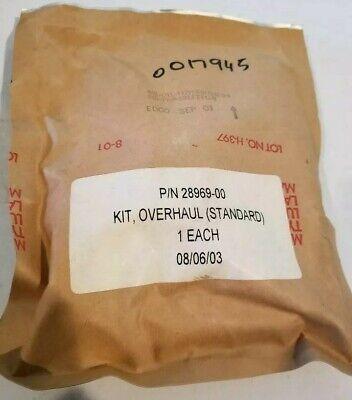 Scott 28969-00 Standard Overhaul Kit For Scba Air Mask