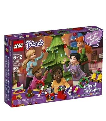 LEGO Friends Advent Calendar 41353, New 2018 Edition, Small... NEW FREE SHIPPING