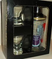 Coctail shaker set new in the box, Precidio,pro shaker,2 glasses